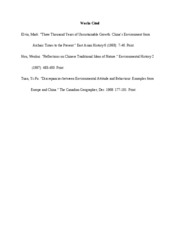 Works Cited essay 2