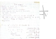 College Algebra 122, Test 1 review