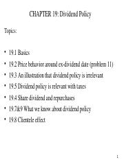 ch19_dividendpolicy.ppt