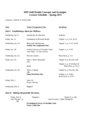 HPS+1040+Lecture+Schedule+Spring+2013.docx