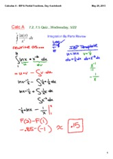 Calculus_A_-_IBP_&_Partial_Fractions,_Day_4