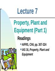 Lect 7 - PPE (1)