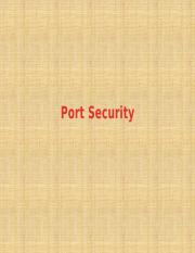 Day 10 Port Security.pptx