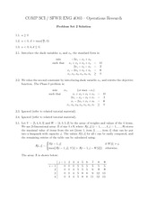 COMP SCI 4003 Solutions for problem set 2