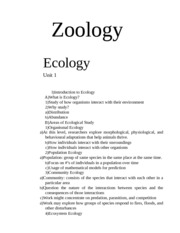 zooo1 notes