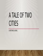 A tale of two cities as a historical novel.pptx