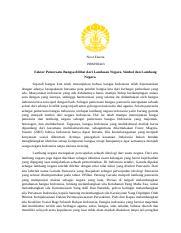 Pemersatu Bangsa Docx Noor Fauzia 1906390443 Faktor Pemersatu Bangsa Dilihat Dari Landasan Negara Simbol Dan Lambang Negara Sejarah Bangsa Kita Telah Course Hero