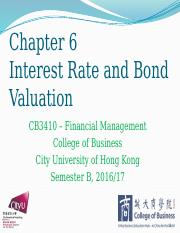 Chapter 6 Interest Rate and Bond Valuation.pptx