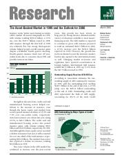 [The Bond Market Association] The Asset-Backed Market in 1999 and the Outlook for 2000.pdf