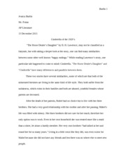 horse dealers daughter essay