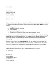 Healthy Home Care letter.docx