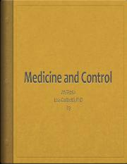 L9 ANTH162 Medicine and Control