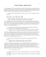 9Chapter9 ProblemsSolutions