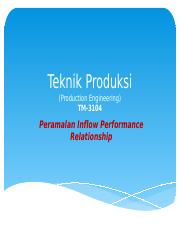 05 Teknik Produksi - IPR Predicting Future IPR for Oil and Gas.pptx