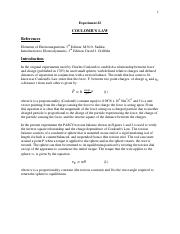 PHYS 242L - E2 - Coulombs Law