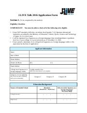 J.LIVE Talk 2016 Application form.docx