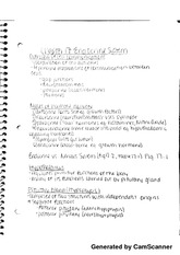 Ch 17 notes:  Endocrine System