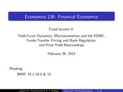 Lecture 11 - Fixed Income II