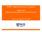 CN3421-Applied Statistics-Chapter14