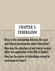 3. Chapter 3-Federalism