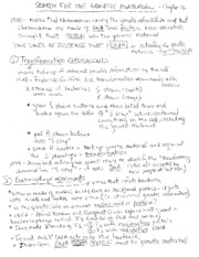 DNA replication - chapter 16 handout spring 2011