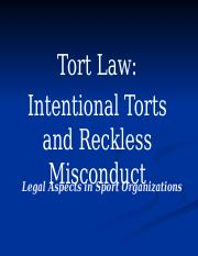 Tort_Law_Intentional_Torts_and_Reckless_.pptx