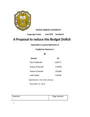 Sample PBL 1070 Fall 2016 Budget Deficit .docx