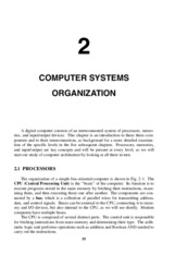 Ch 2 Computer Systems Organization
