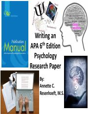Writing a Psychology Research Paper 1 Overall Paper Structure.pdf
