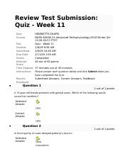 NURS 6501Week 11 Patho quiz self.docx