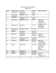 OHS 1023 Lecture Schedule (2).docx