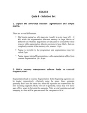 Quiz 4 - Solution Set(1)