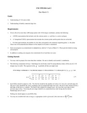 Lecture Notes E on Computational Geometry)