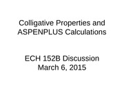 Discussion0306ColligativeProperties