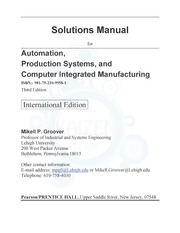 Automation Solution Manual 3 1 1 Ch01 Introduction