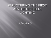 Lecture 3 - Structuring Lighting