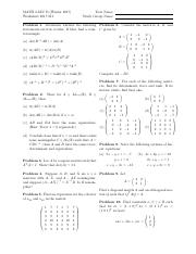 Midterm Review Worksheet 2017