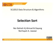ds and algrthm ocwChp5SelectionSort