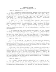 Topology homework solutions
