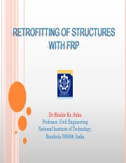 3. Retrofitting of Structures