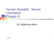 Human Sexuality Chapter 9R