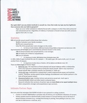 Sexual Assault Handout Page 2