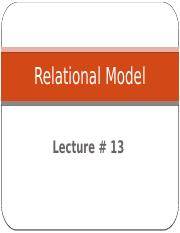 DB-Lec_13_Relational_Model.pptx;filename= UTF-8''DB-Lec 13 Relational Model.pptx