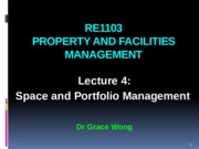 RE1103 Lecture 4