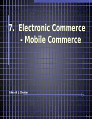 07  Electronic Commerce(2)