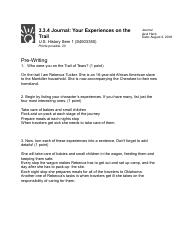 3.3.4 Journal: Your Experiences on the Trail.pdf