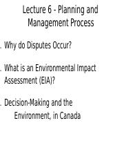 Planning and Management Process- Lecture 6.docx