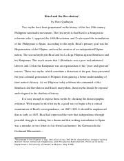 Floro Quibuyen - Rizal and the Revolution.pdf