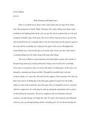 rudy essay