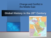 Conflict in Middle East